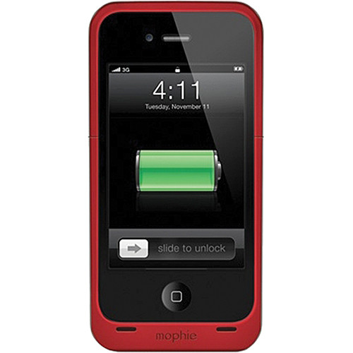 mophie juice pack air for iPhone 4/4s (Red)