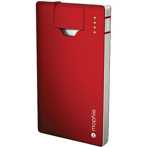mophie Juice Pack Boost Battery for iPhone & iPod (Red)