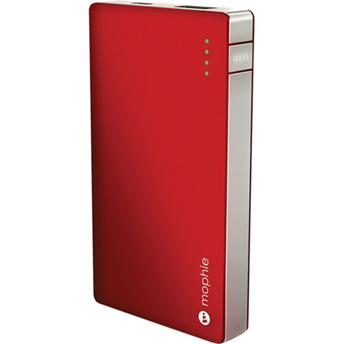 mophie Juice Pack Boost Powerstation for Smartphones & Tablets (Red)