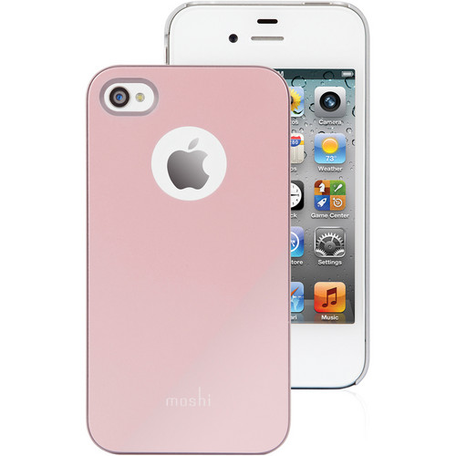 Moshi iGlaze for iPhone 4 / 4S (Champagne Pink)