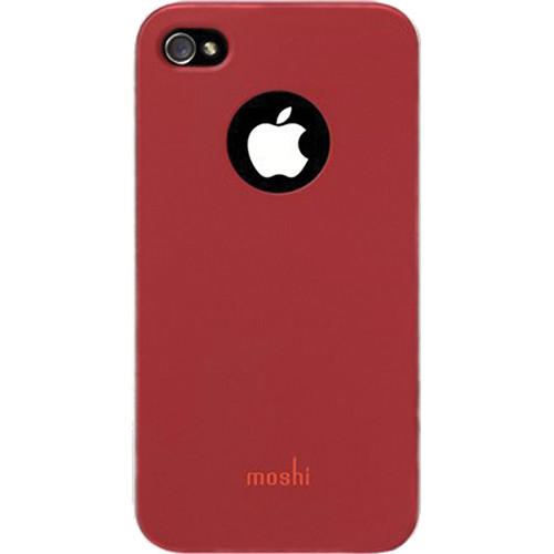 Moshi iGlaze 4 For iPhone 4 (Cranberry Red)