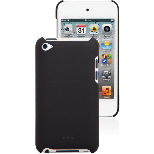 Moshi iGlaze Case for iPod touch 4th Generation Media Player (Graphite Black)