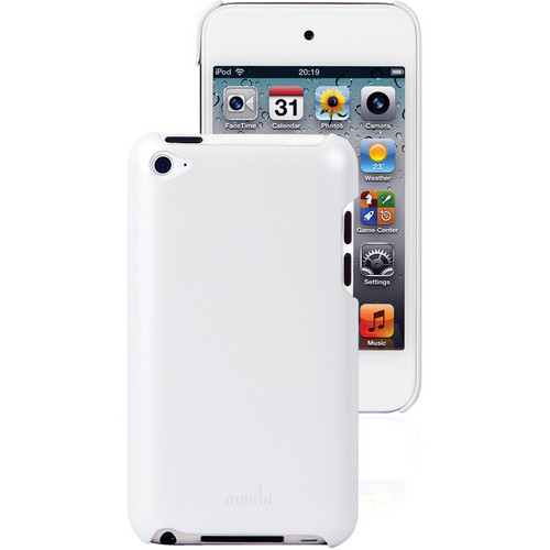 Moshi iGlaze touch G4 Shell Case (Pearl White)