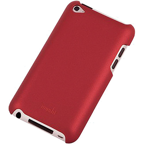 Moshi iGlaze Case for iPod touch 4th Generation Media Player (Cranberry Red)