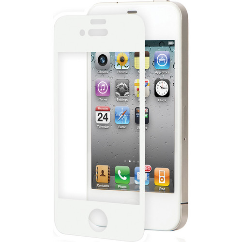 Moshi iVisor AG Screen Protector for Apple iPhone 4 (White)