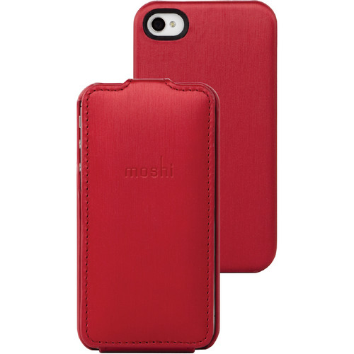 Moshi Concerti for iPhone 4 / 4S (Cranberry Red)