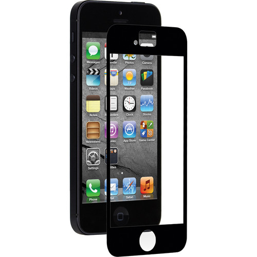 Moshi iVisor AG Screen Protector for Apple iPhone 5 (Black)