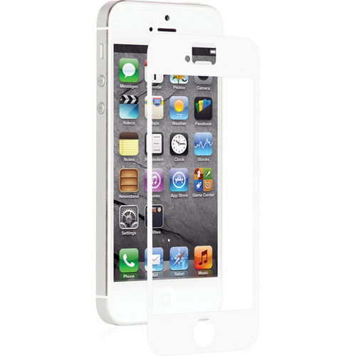 Moshi iVisor AG Screen Protector for Apple iPhone 5/5s/5c/SE (White)