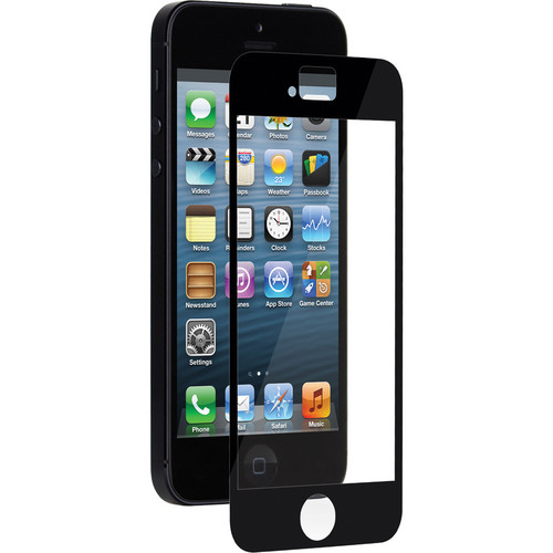 Moshi iVisor XT Screen Protector for iPhone 5/5s/5c/SE (Black)