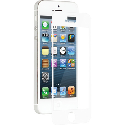 Moshi iVisor XT Screen Protector for iPhone 5/5s/5c/SE (White)