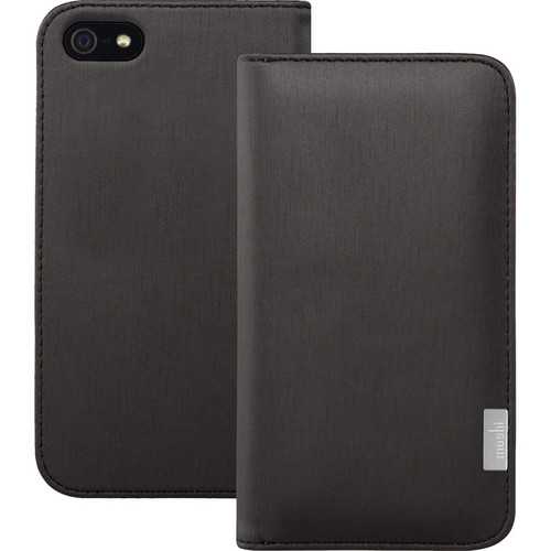Moshi Overture Case for iPhone 5/5s/SE (Metallic Black)