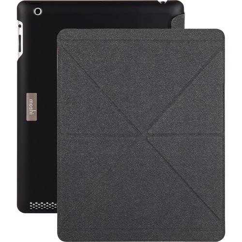 Moshi iGlaze + VersaCover for iPad 3rd and 4th Generation (Black)