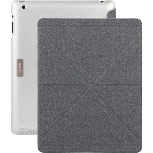 Moshi iGlaze + VersaCover for iPad 3rd and 4th Generation (Translucent)