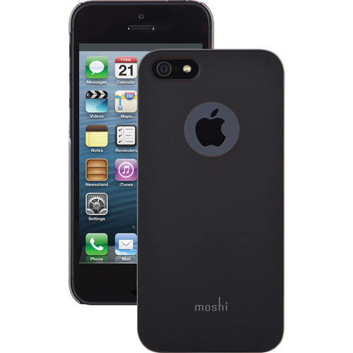 Moshi iGlaze Case for iPhone 5/5s/SE (Graphite Black)