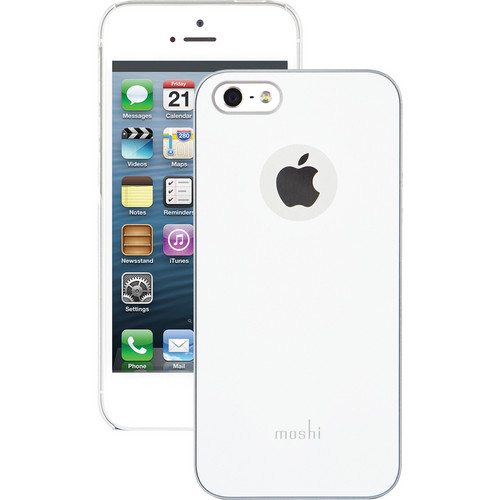 Moshi iGlaze Case for iPhone 5/5s/SE (Pearl White)