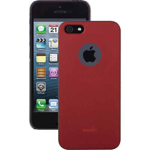 Moshi iGlaze Case for iPhone 5/5s/SE (Burgundy Red)