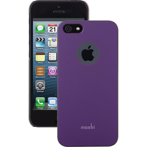 Moshi iGlaze Case for iPhone 5/5s (Tyrian Purple)