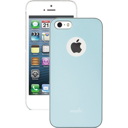 Moshi iGlaze Case for iPhone 5/5s (Coral Blue)