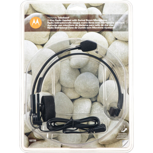 Motorola 53725 Headset with Microphone - for Spirit GT, Talkabout T-5000 and T-6000 Series Radios