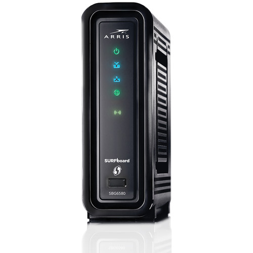 ARRIS SBG6580 SURFboard DOCSIS 3.0 Wireless Cable Modem & Wi-Fi Router