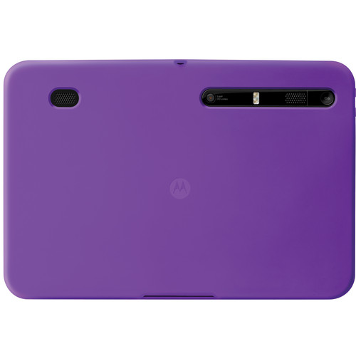 Motorola Protective Gel Case for Motorola XOOM (Purple)