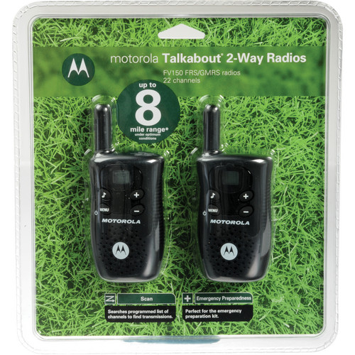 Motorola FV-150 2-Way Radios (Pair)