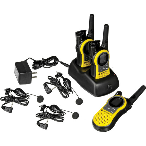 Motorola MH230R Talkabout 2-Way Radio (3-Pack)