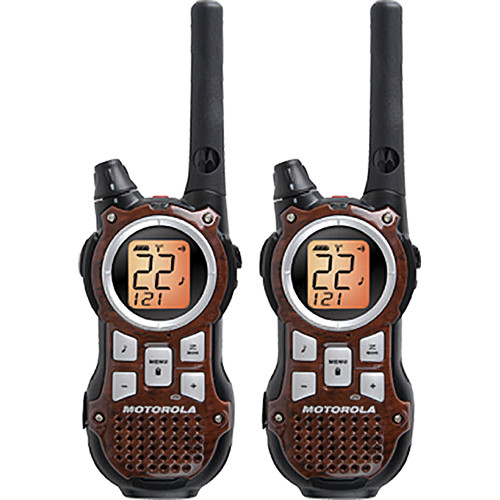 Motorola Talkabout MR350R VP Portable 2-Way Communication Radio (Pair)