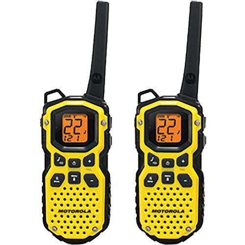 Motorola Talkabout MS350R 2-Way Radio Pair (Yellow)