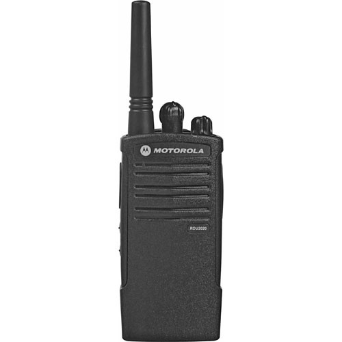 Motorola Model RDU2020  , RDX Business Series Two-Way UHF Radio (Black)