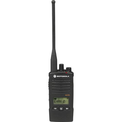 Motorola Model RDU4160D, RDX Business Series Two-Way UHF Radio with Display (Black)