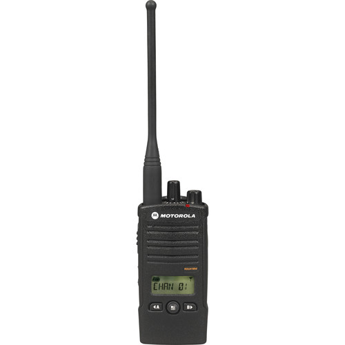 Motorola Model RDU4160d, RDX Business Series Two-Way UHF Radio with Display (Black)