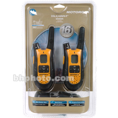 Motorola SX800R 2-Way Radios
