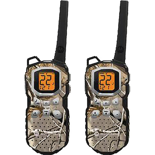 Motorola Talkabout MS355R 2-Way Radio Pair (Camouflage)