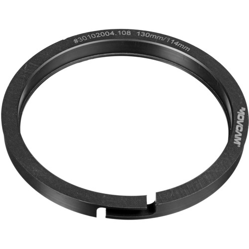 Movcam 130:114mm Step-Down Ring for Clamp-On MatteBoxes