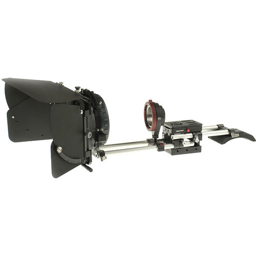 Movcam Sony NEX-FS100 Kit 1 with Mattebox, Support and PL Mount