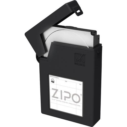 """Mukii ZIPO 3.5"""" HDD Protector (Black)"""