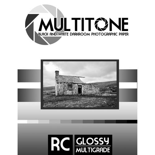 "MultiTone Black & White RC Paper (Glossy, 8 x 10"", 25 Sheets)"
