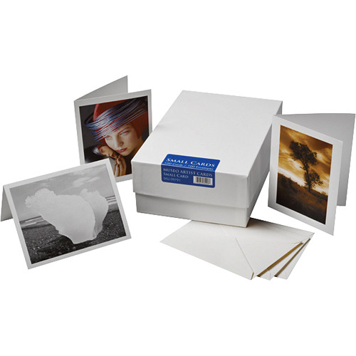 """Museo Small Inkjet Artist Cards (9 x 5.81"""", 100 Cards & Envelopes)"""