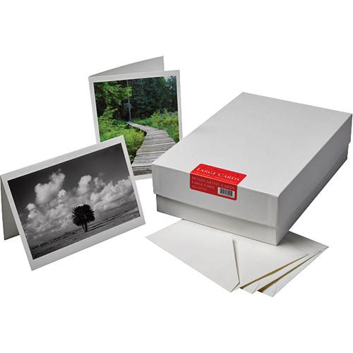 """Museo Large Inkjet Artist Cards (11 x 7.37"""", 100 Cards & Envelopes)"""