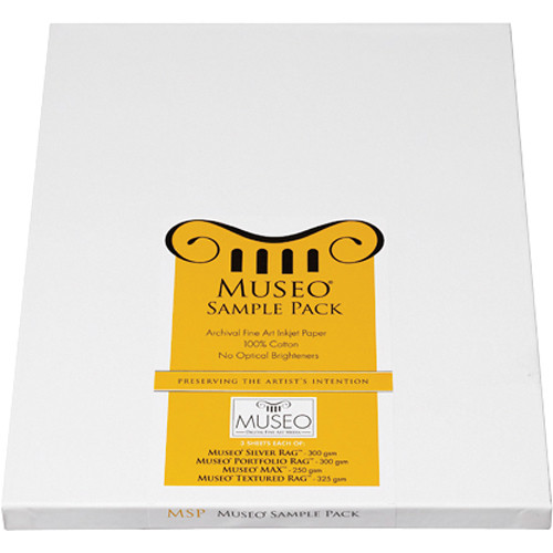 "Museo Fine Art Sample Pack (8.5 x 11"", 12 Sheets)"
