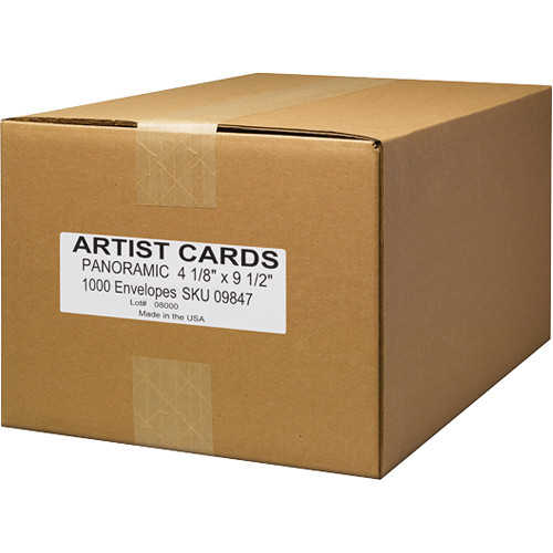 Museo #10 Envelopes for Museo Panoramic Artist Cards (1,000-Pack)