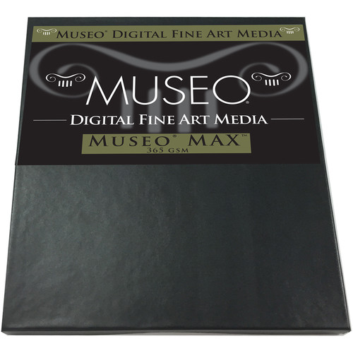 "Museo MAX Archival Fine Art Paper for Digital Printing (17 x 22"", 25 Sheets)"