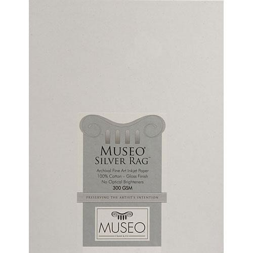 "Museo Silver Rag Paper (Glossy, 8.3x11.7"" - A4, 25 Sheets)"