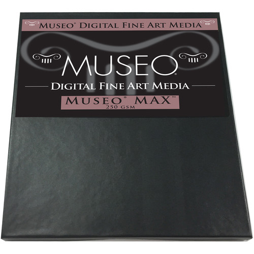 "Museo MAX Archival Fine Art Paper for Digital Printing (8.5 x 11"", 25 Sheets)"