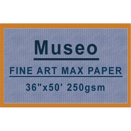 """Museo MAX Archival Fine Art Paper for Digital Printing (36"""" x 50', One Roll)"""