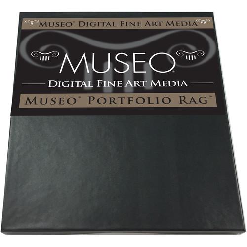 "Museo Portfolio Rag Paper (8.5 x 11"", 25 Sheets)"