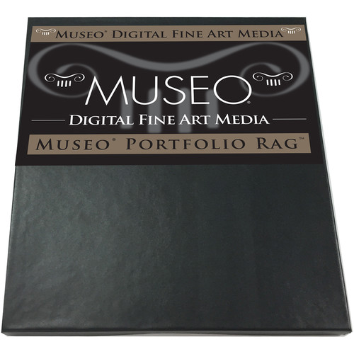 "Museo Portfolio Rag Fine Art Paper - 8.5x11"" - 25 Sheets"