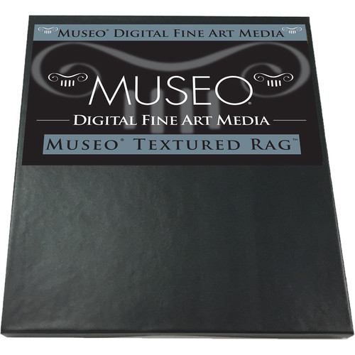 "Museo Textured Rag Digital Fine Art Watercolor Paper (17 x 22"", 25 Sheets)"