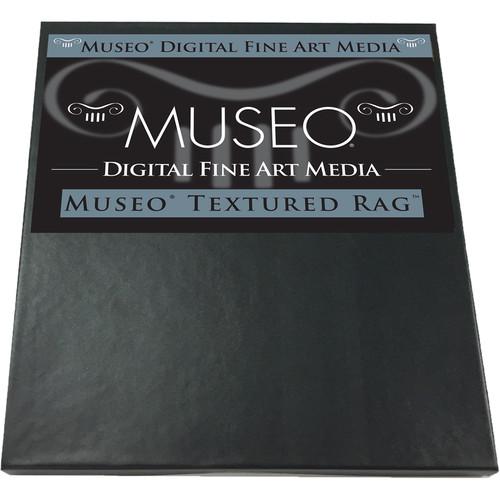 "Museo Textured Rag Digital Fine Art Watercolor Paper (17 x 22"", 25 Sheets)"